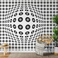 Dots Black and White - 5006