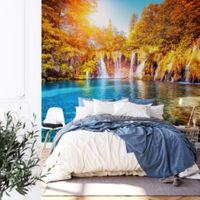 Waterfall and Lake in Croatia - 5030