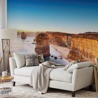 Cliff at Sunset in Austrailia - 5037