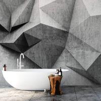 3D Concrete Wall - 5496